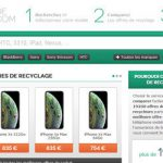 Ce site offre la possibilité de recycler son portable