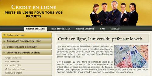 Votre crédit en ligne
