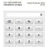 Perdu dans vos chiffres, pourquoi ne pas prendre cette calculatrice