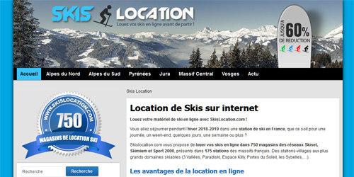 Tous les magasins de location de ski à portée de clic